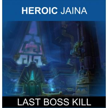 JAINA PROUDMOORE HEROIC KILL